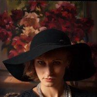 Портрет с пионами :: Сергей Тригубенко