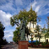 Памятник Николаю Угоднику г.Пермь :: Александр