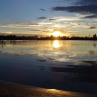 На озере Старица в Новосибирской области :: Маргарита N