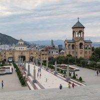 Грузия Тбилиси Вид от храма Самеба :: Вячеслав Шувалов