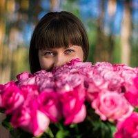 купаюсь в цветах :: Виктор Зенин