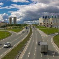Н-Юганское шоссе. г. Сургут. :: Николай