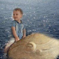 Ихтиандр в детстве.... :: Tatiana Markova