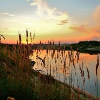 Река,закат.. :: Юрий Анипов
