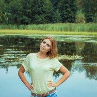 Прогулка на пруд :: Алёна Цёма