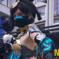mortal kombat Kitana cosplay Kleo/Barbie/mk :: Kleo/Barbie/mk nonstopcosplay
