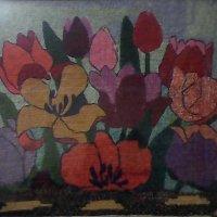 """Вышивка крестиком """"Цветы""""! :: Светлана Калмыкова"""