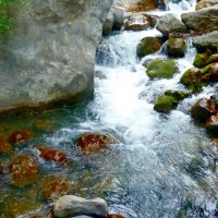 Горная речка. :: Чария Зоя