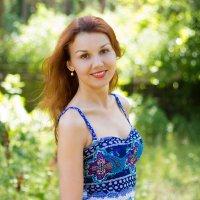 Солнечная девушка :: Виктория Хомутова