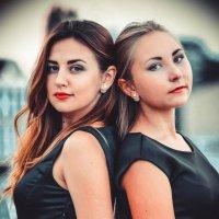 Марго и Арина :: Юлия Михайлова