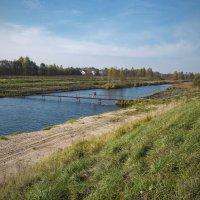 Главный канал Вилейско-Минской водной системы :: Владислав Писаревский