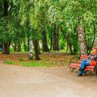 осень в августе... :: Надежда Шемякина