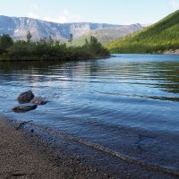 озеро Малый Вудъявр. :: Лазарева Оксана