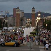 Барселона вечером - это всегда праздник :: Николаева Наталья