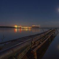 НВАЭС в ночи :: Юрий Клишин