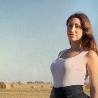 В поле :: Ирина Головкина