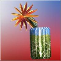 цветок в вазе :: linnud