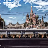 В далёкий параллельный мир автобус мчит... :: Ирина Данилова