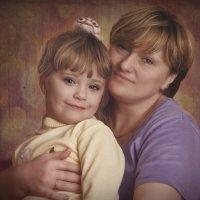 Мама и дочка :: ChernilaART .