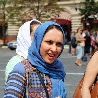 Реакция девушки...она увидела Кремль... :: Дмитрий Иншин
