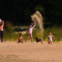 развлечения на пляже) :: linnud