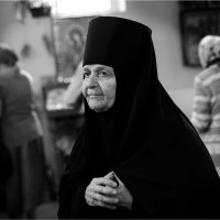 Монахиня Серафима :: Юрий Храмутичев