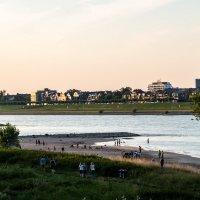 Рейн и пляж :: Witalij Loewin