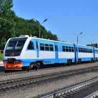 Рельсовый автобус РА2-051 :: Денис Змеев