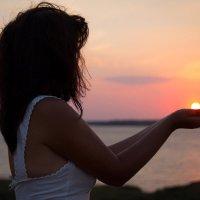 Ну вот и закат этого лета... ))  Прощай прекрасная пора... )) :: Райская птица Бородина