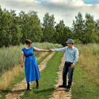 Прогулка в полях :: Дмитрий Конев