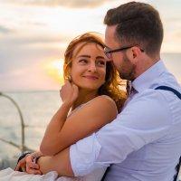 Романтическая свадебная фотосессия на рассвете :: Jenya Kovalchuk