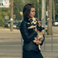 Девушка с собачкой :: Saloed Sidorov-Kassil