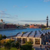 Москва. Вид с Крымского моста :: Роман Царев