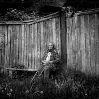 Два жителя в одной деревне :: Юрий Храмутичев