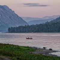 Вечер на озере :: Галина Шепелева