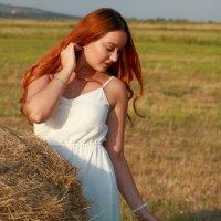 Осенний оттенок в вечернем свете :: Леонид
