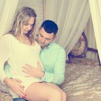 Будущие мама - Ирина и папа - Андрей :: Наталья Агрикова