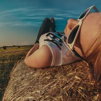 Небо смотрит на меня, я смотрю на небо :: Ирина Данилова