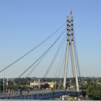 Вид на мост влюбленных :: Николай П.