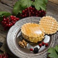 Печенье с медом и ежевикой :: Алексей Егоров