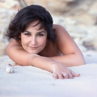 ... на песке... :: Райская птица Бородина