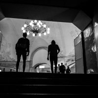 В метро :: Timur Sharipov
