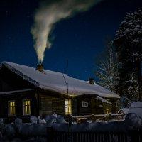Морозная зимняя ночь :: Сергей Смирнов
