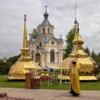 Троицкий храм. Купола. :: Дмитрий Пислигин