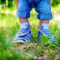 Наши с папой ножки :: Татьяна