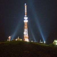 Гора Машук ночью :: Михаил Яблоков