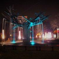 Ночной фонтан..... :: Александр Литвин