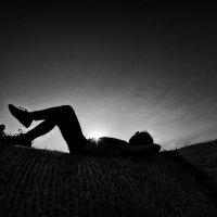 Вся в мечтах и надеждах, пропахшая сеном и полем :: Ирина Данилова