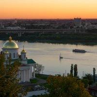 Нижний Новгород. Закат на Оке. :: Gordon Shumway