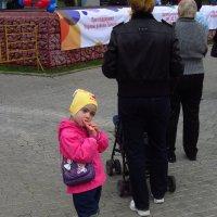 День города в Москве (Задумчивая) :: Андрей Лукьянов